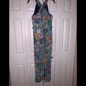 Dressbarn summer dress beautiful paisley multi